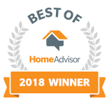 Best of Home Advisor Winner 2018
