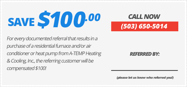 Save $100 for every referral